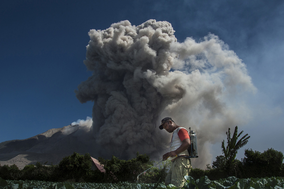 Life Under The Deadly Shadows Of Sinabung Eruption