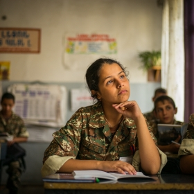 Women to the frontline: Female cadets challenging stereotypes in Armenia and Karabakh