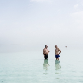 The dying Dead Sea