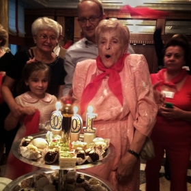 100 years old Mary